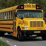 Huur oude schoolbus