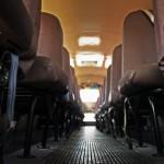 Oude Amerikaanse schoolbus huren